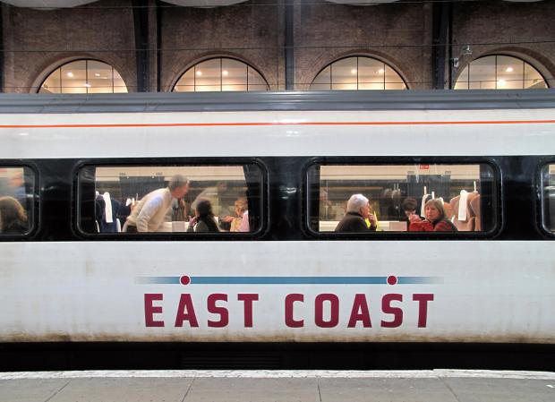 Passengers vote East Coast top rail company