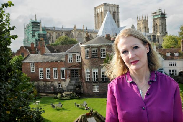 Helen Heraty, of Gray's Court, is celebrating the success of her appeal hotel legal battle