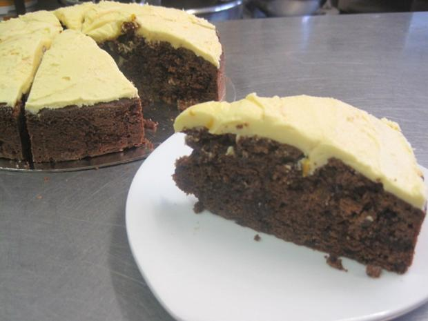 York Press: Triple choc orange cake recipe