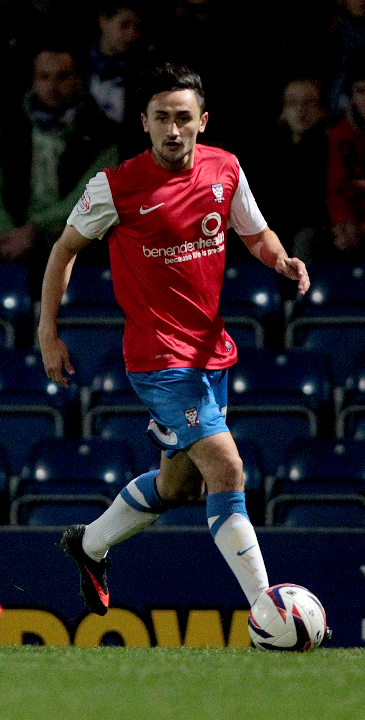 York City have re-signed Ryan Brobbel on loan from Middlesbrough