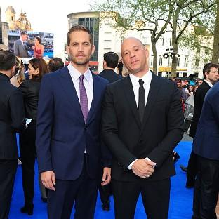 Vin Diesel has made an emotional tribute to his 'brother', Paul Walker