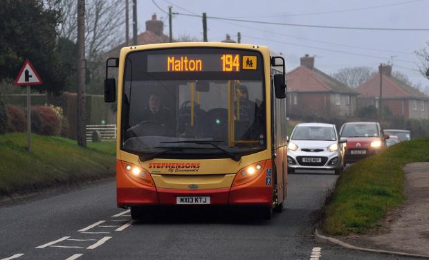 Call to think again on bus cuts