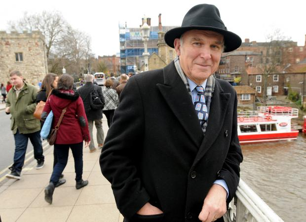 Vince Cable in urges York residents to vote in European elections