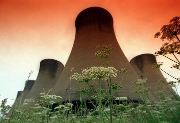 Eggborough Power Station, which is at risk of closure