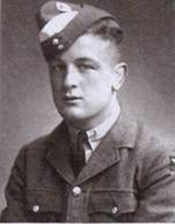 Ian Spaven in 1943 after joining up as an RAF cadet in Scarborough