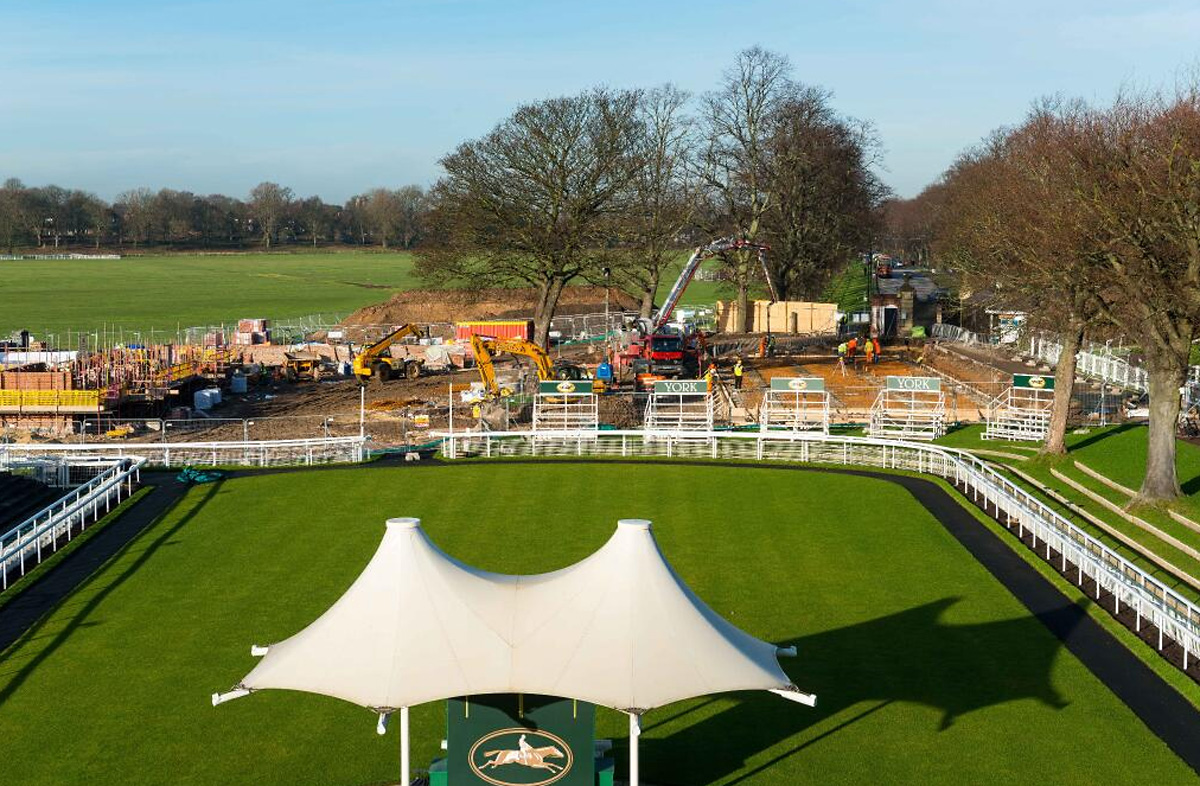 First phase of York Racecourse development continues