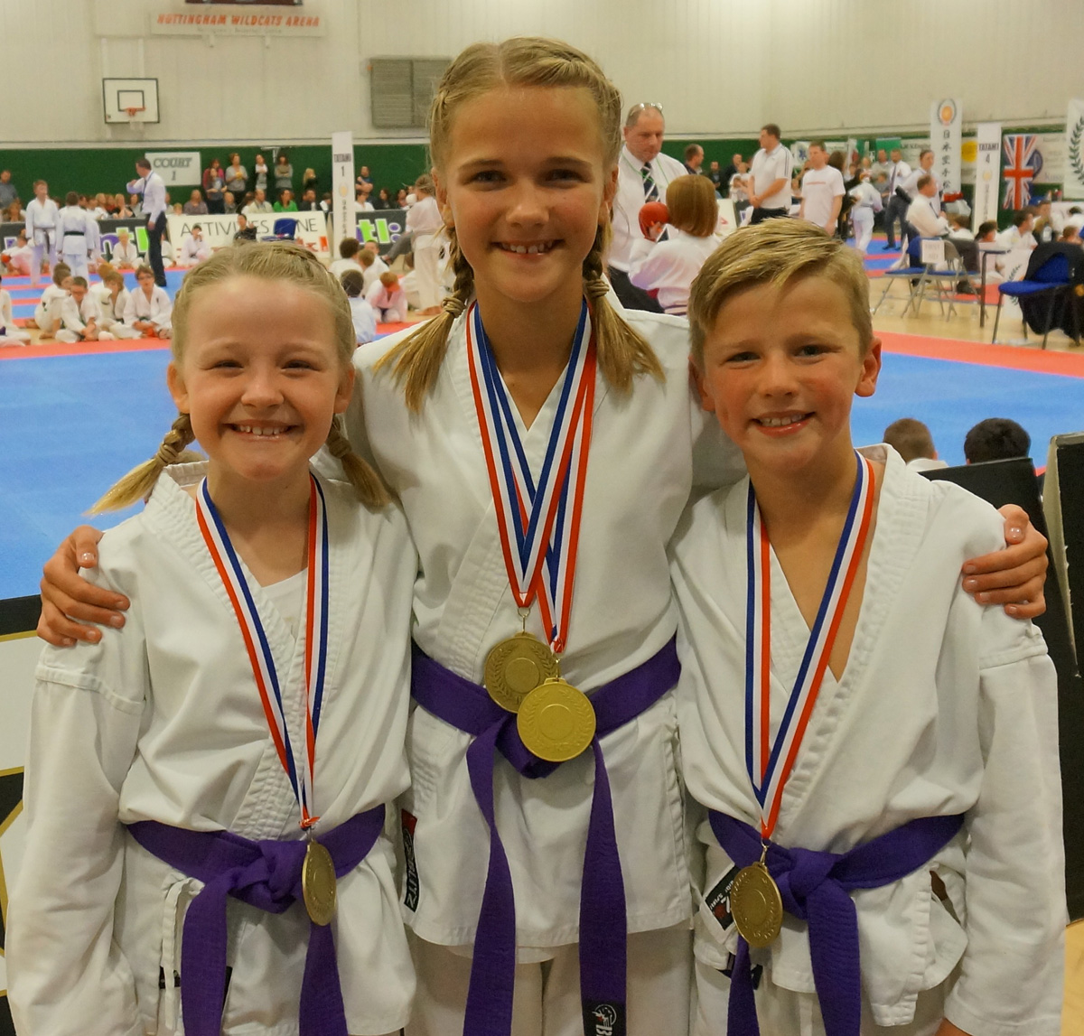 Medals success for York karate clubs