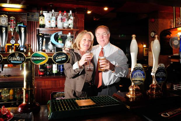 York Press: Maggie and Mike Hird of       The Victoria Vaults