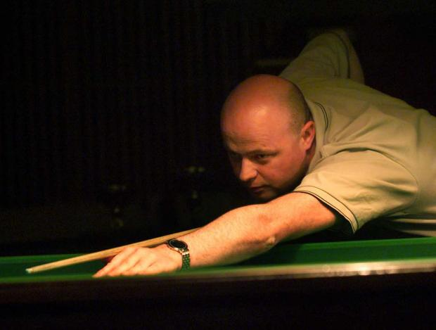 Snooker ace Clive Whyte