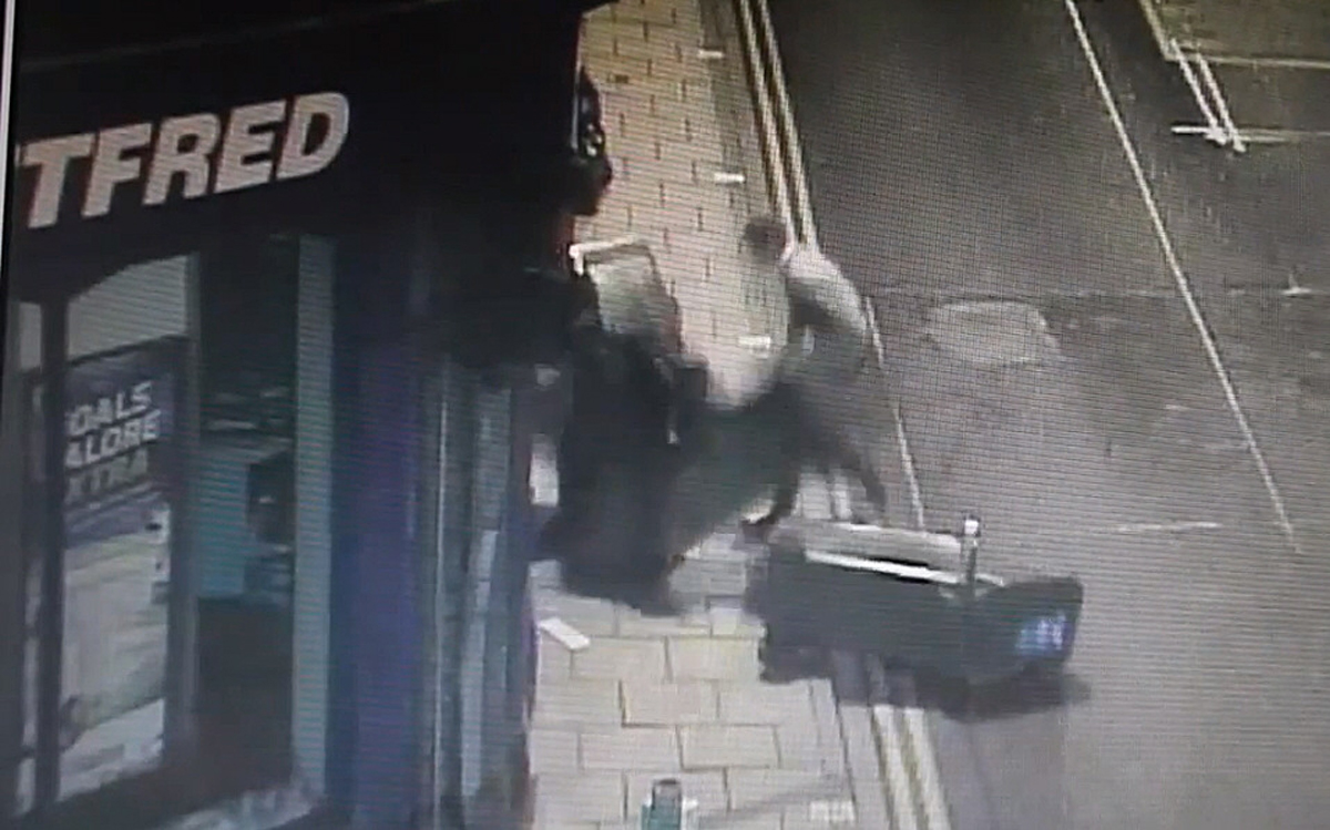 VIDEO: Vandals caught red-handed in York city-centre