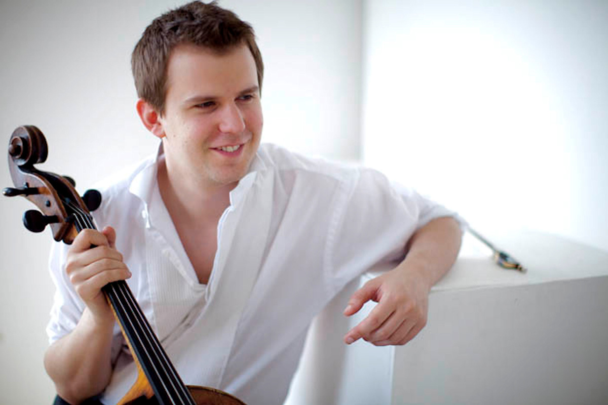 Cellist Tim Lowe, founder of the York Chamber Music Festival