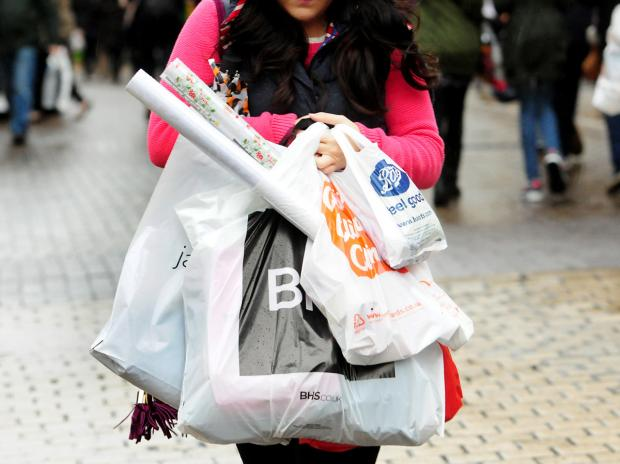 Shoppers out in force over Christmas period