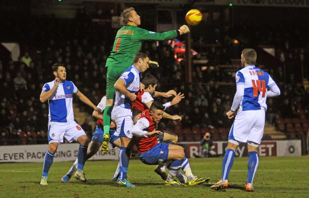 York Press: Bristol Rovers' Steve Mildenhall again defies York City