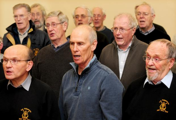 Members of the York Philharmonic Male Voice Choir