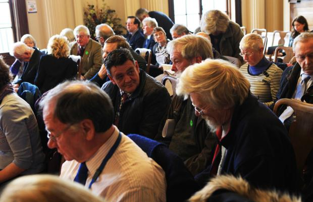 About 40 members of the public attended the meeting at County Hall in Northallerton. Picture: Sarah Caldecott