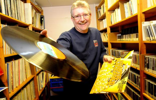York Press: Keith Lea, longest-serving member, in the record library