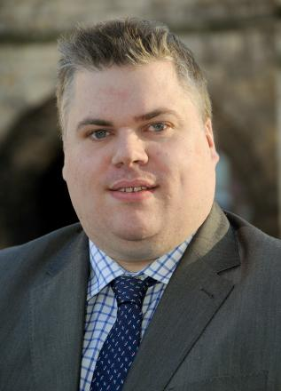 New Conservative group leader Chris Steward
