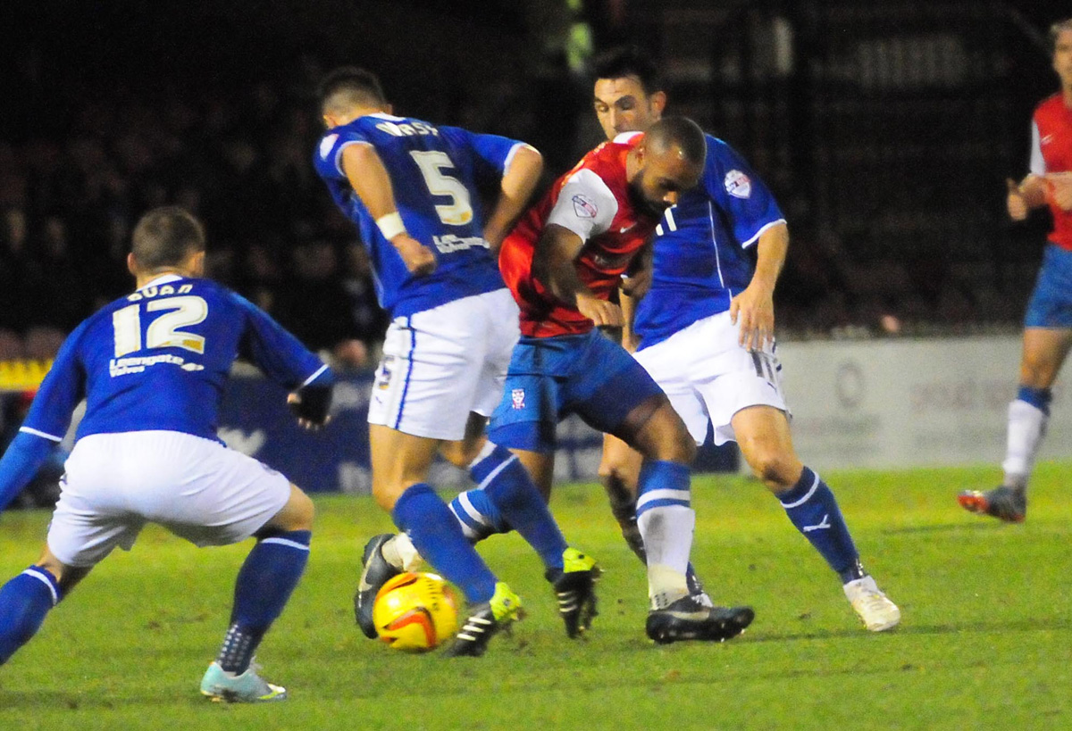 Match report: York City 0, Chesterfield 2