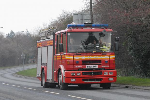 Man, 79, in Cliffe fire drama