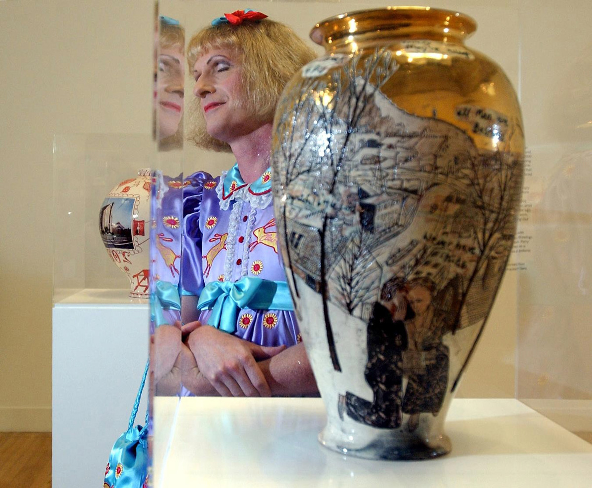 The bear facts about Grayson Perry's night out in York