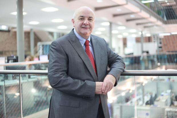 Simon Westwood, 59, has taken over as chair of the Safeguarding Children's Board. Picture: Chris Day