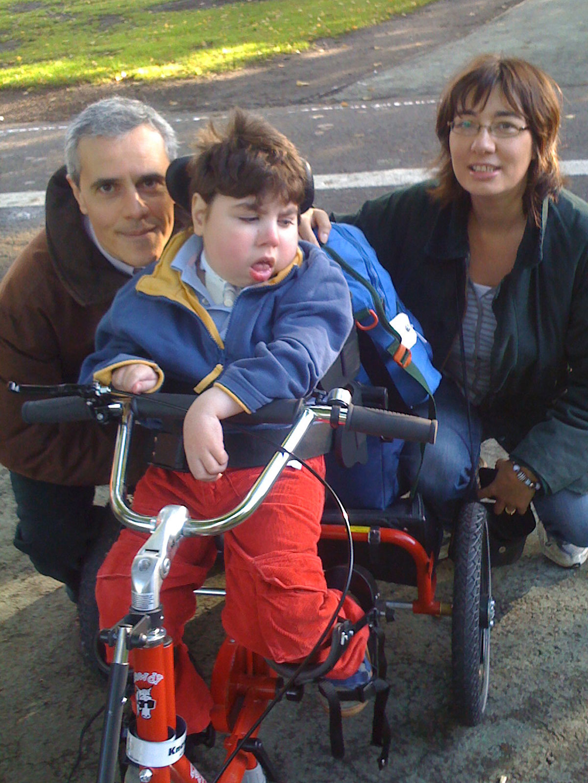 Adam Bojelian with his mother, Zoe, and dad, Paul
