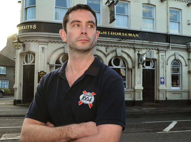 Dan Murphy from The Lighthorseman pub in Fulford Road,  welcomes the proposal to extend  opening hours for the game against Italy which kicks off at 11pm on June 14