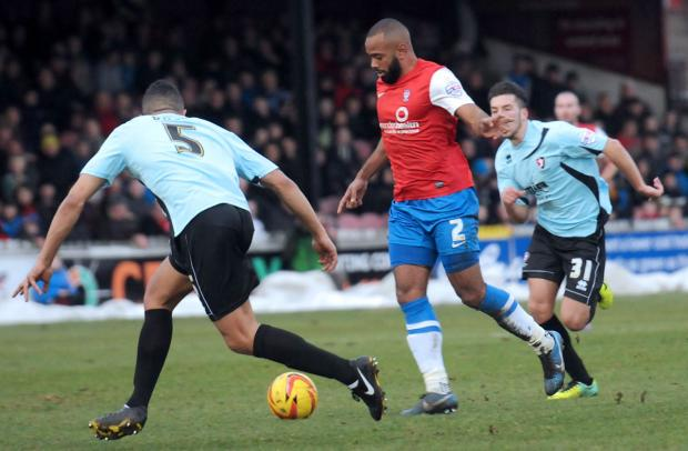 York City right-back Lanre Oyebanjo