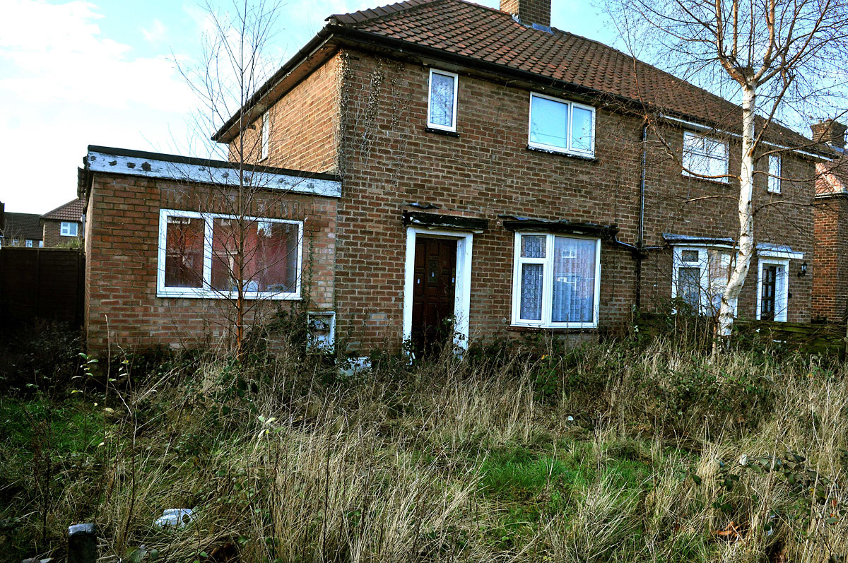 Neighbours' anger over eyesore house which has been standing empty for 14 years