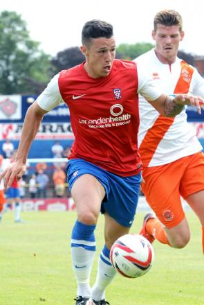 York City top scorer Wes Fletcher