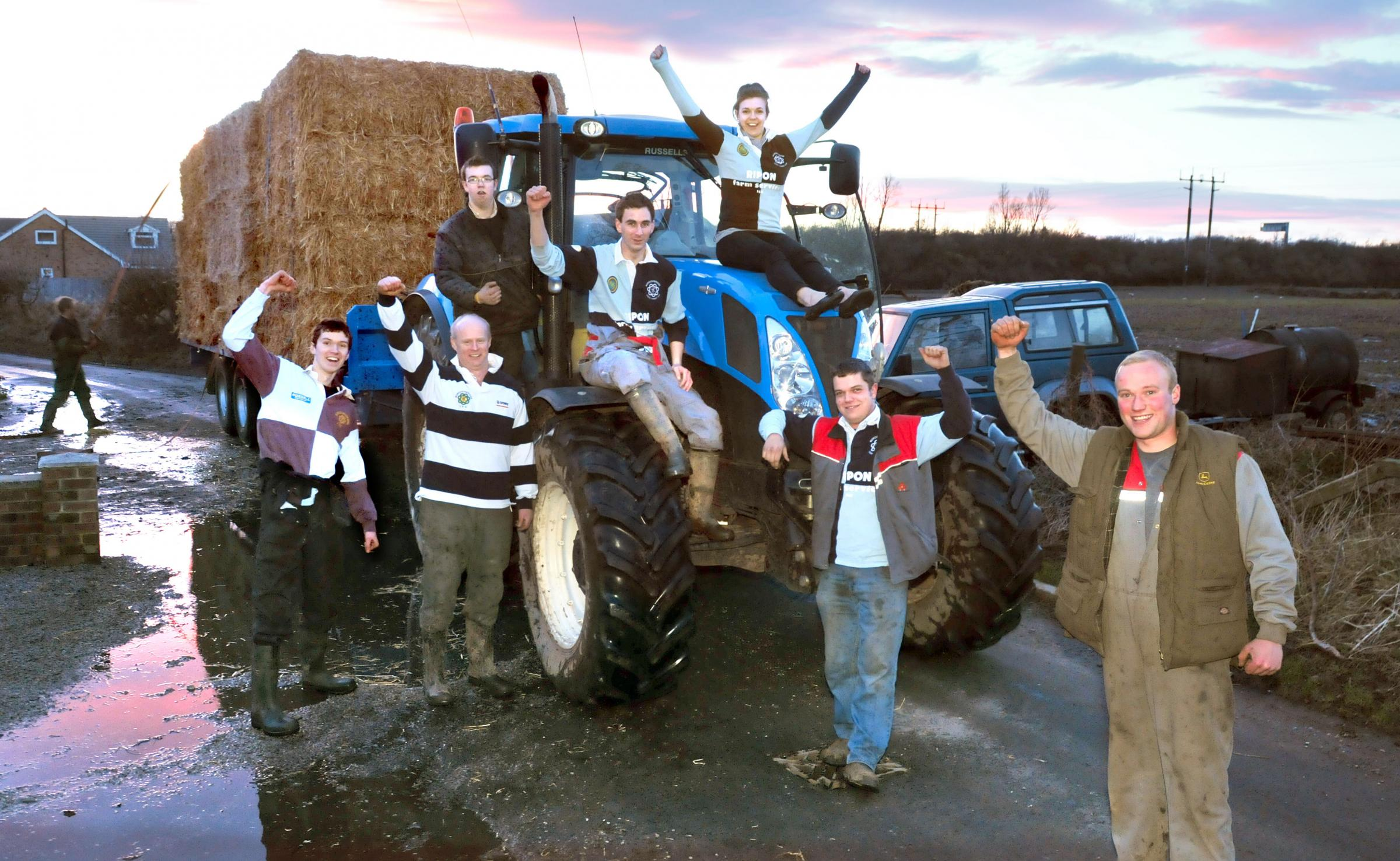 North Yorkshire farmers pitch in with flood relief