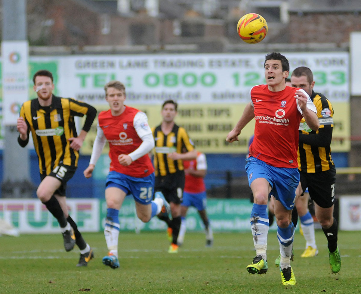 York City 0, Southend United 0