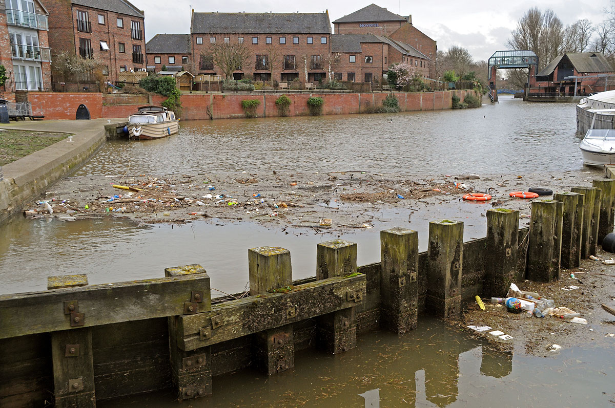 Dirty River Foss branded an eyesore