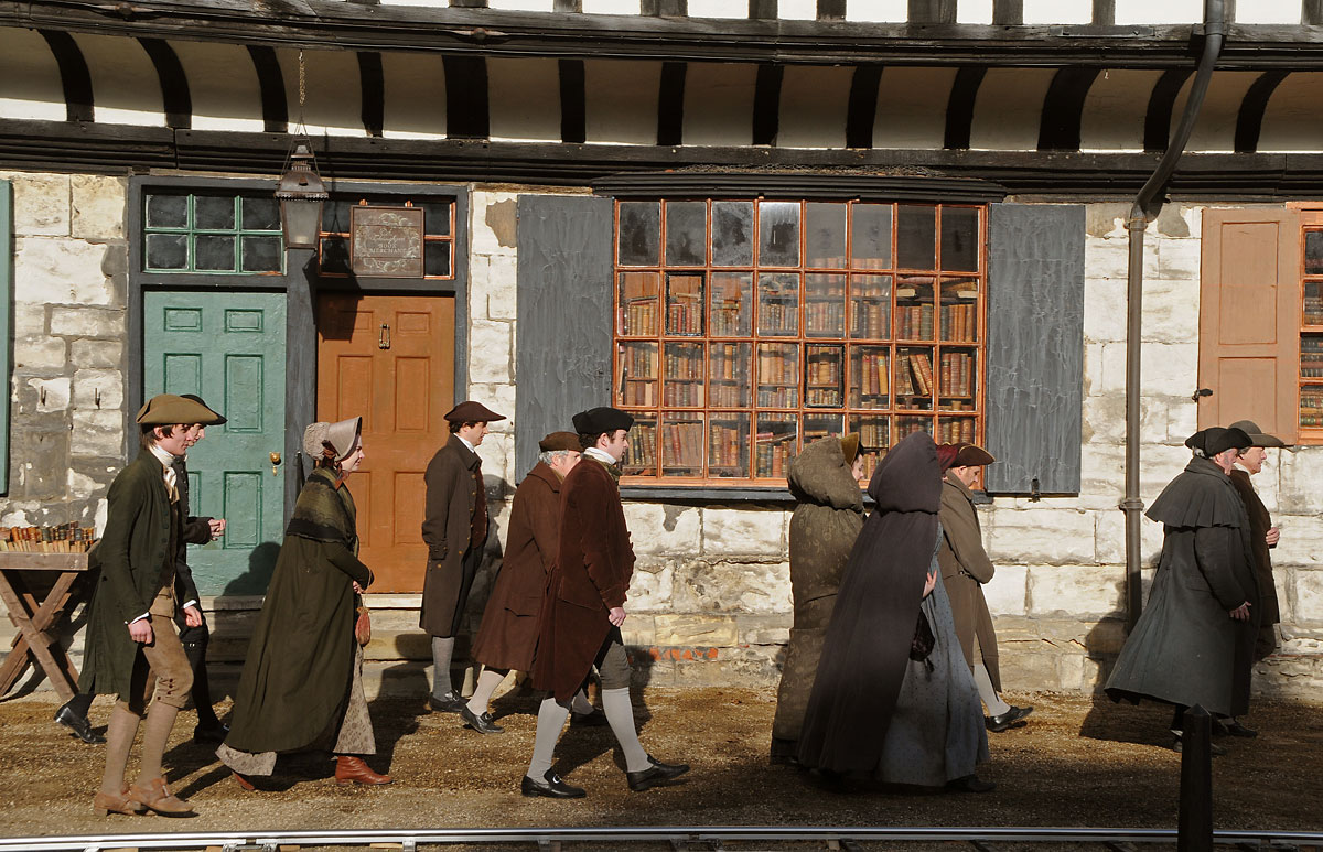Filming begins at York Minster for BBC historical drama