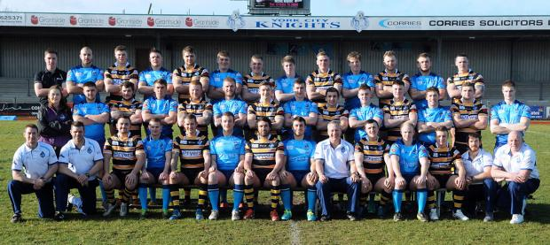 Knights' 2014 squad and personnel