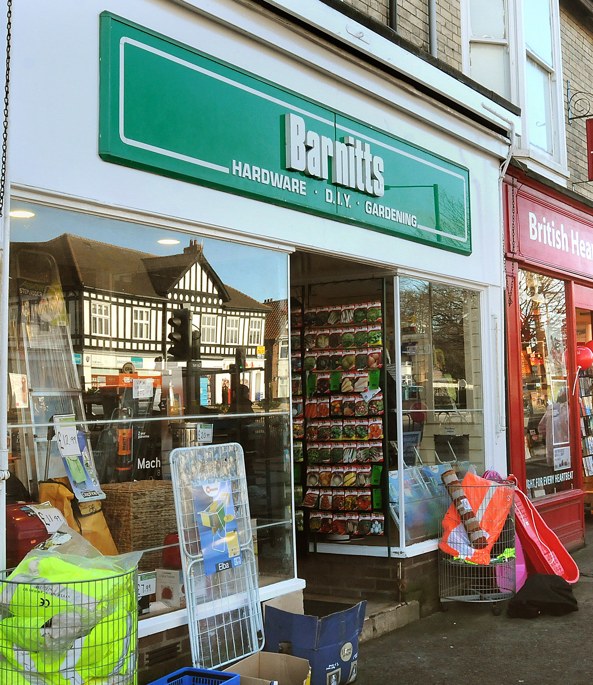 The Barnitts store in Front Street, Acomb