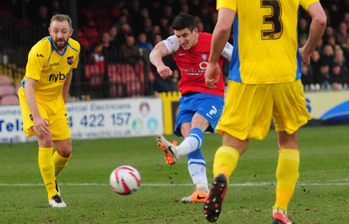 York City 2, Exeter City 1