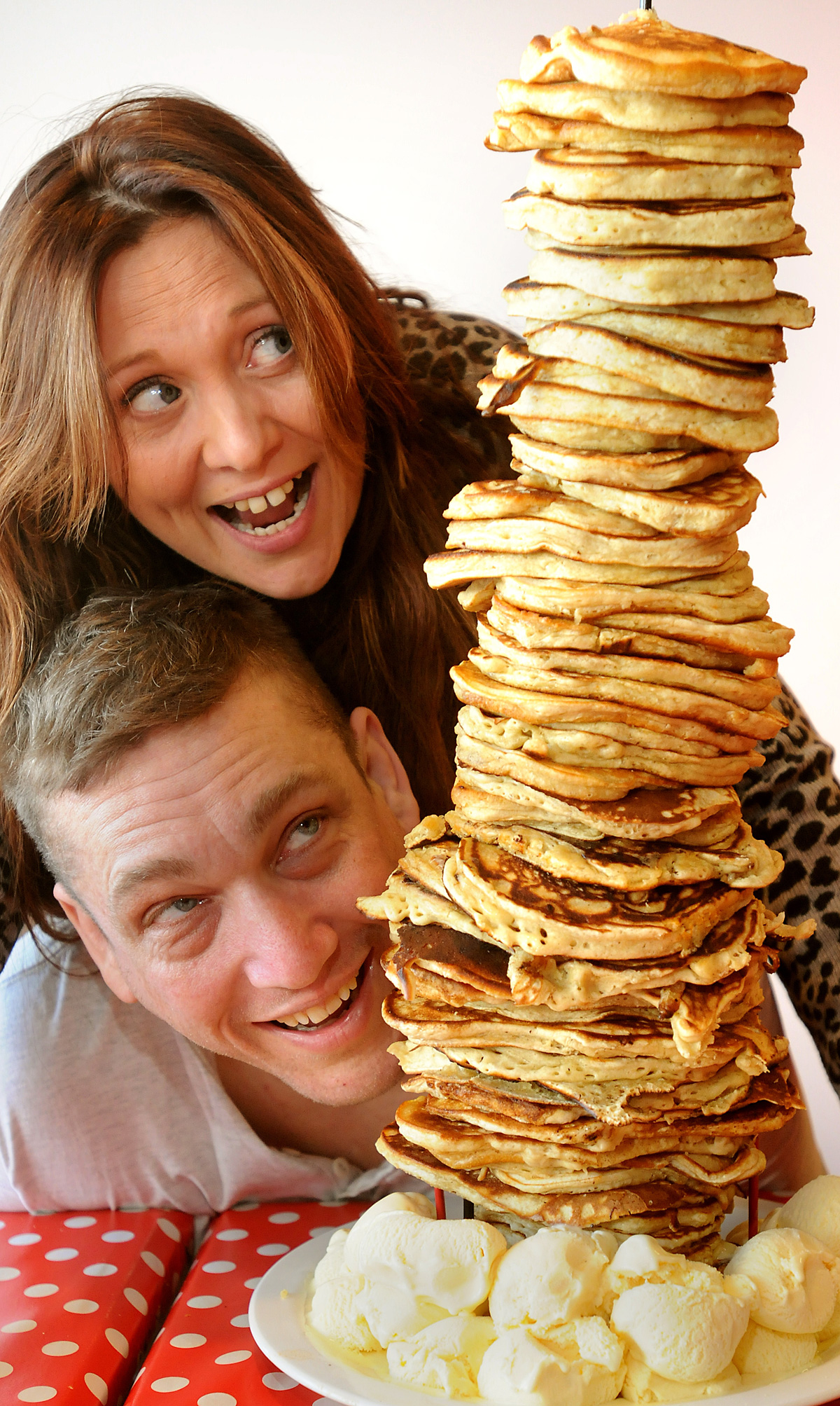 Restaurant challenges diners to Pancake Day challenge