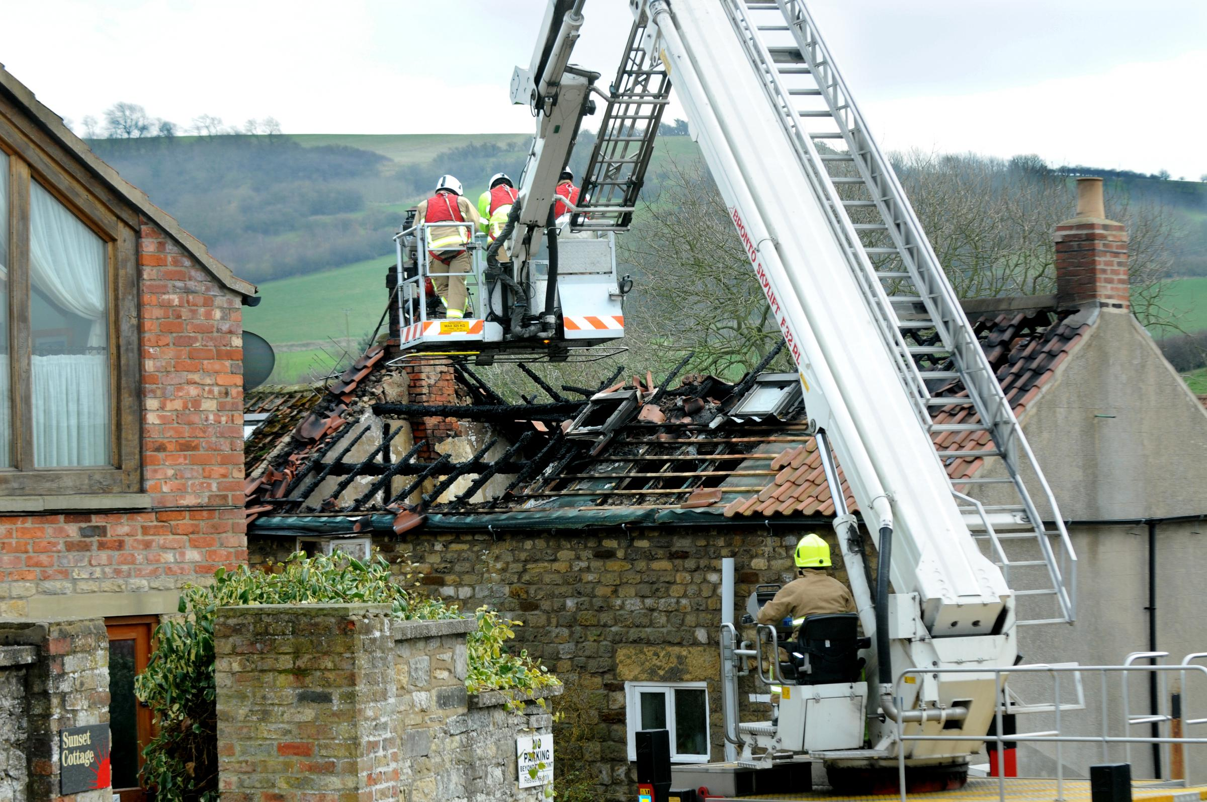 Fire guts rural cottage - Family tell of devastation - Charger may have been cause