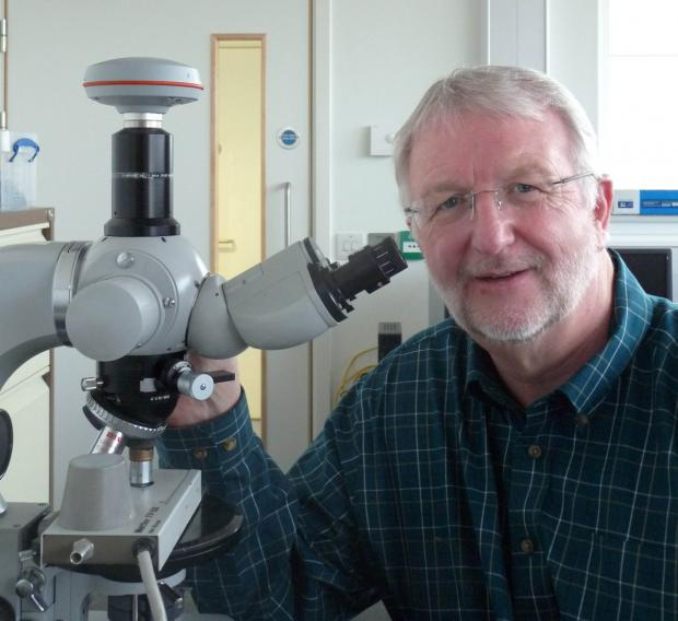 Professor John Goodby, who has won AkzoNobel's UK Science Award for 2014