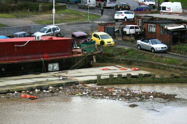 The River Foss is a haven for rubbish according to some readers