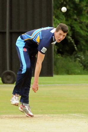 Yorkshire  youngster Matt Fisher shone for England in the ICC Under-19s World Cup