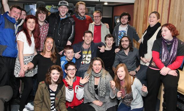 York Press: Members of the Springboard Music and Video Production Project at York St John University