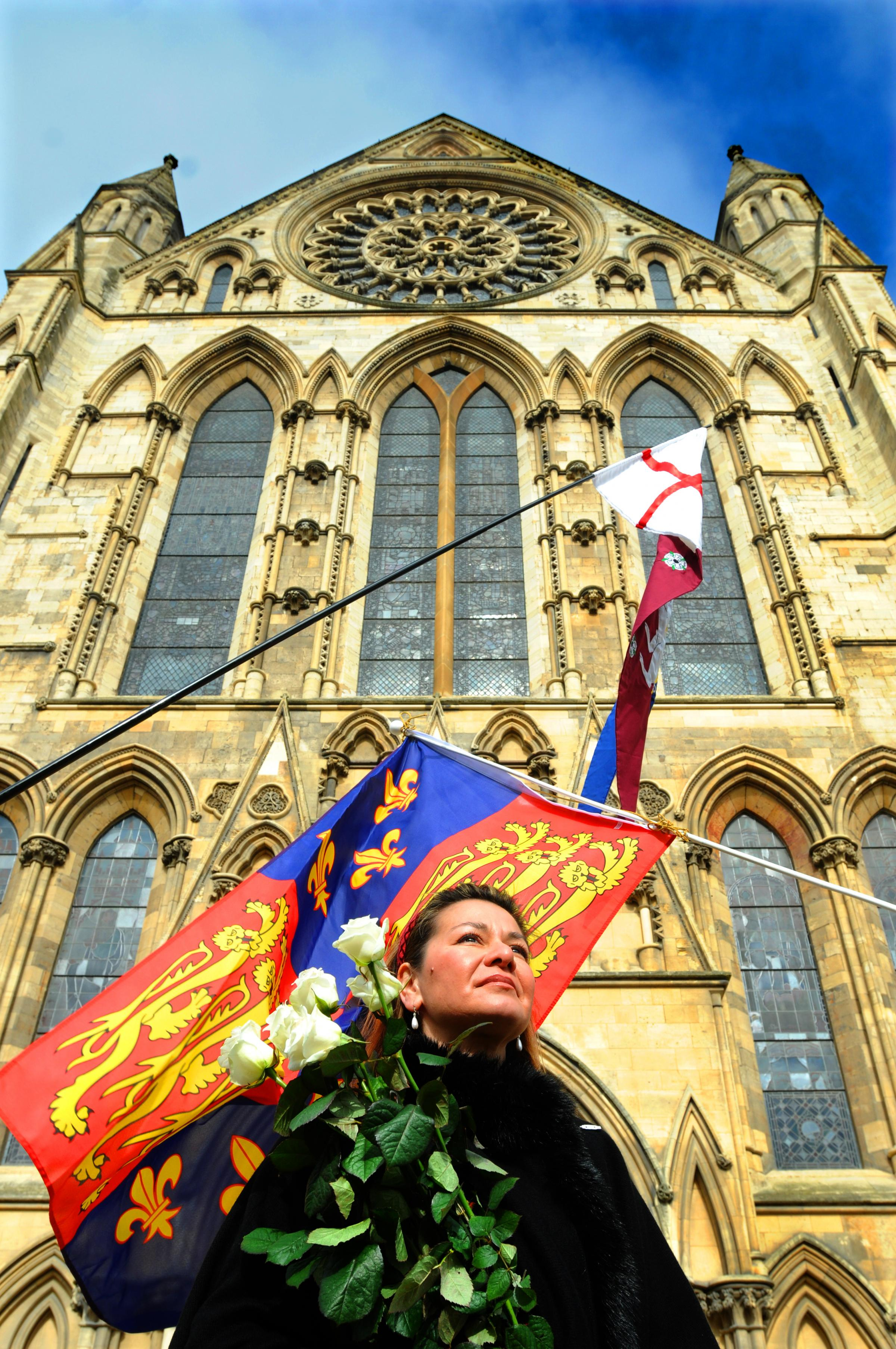 Richard III campaigners stage march through York