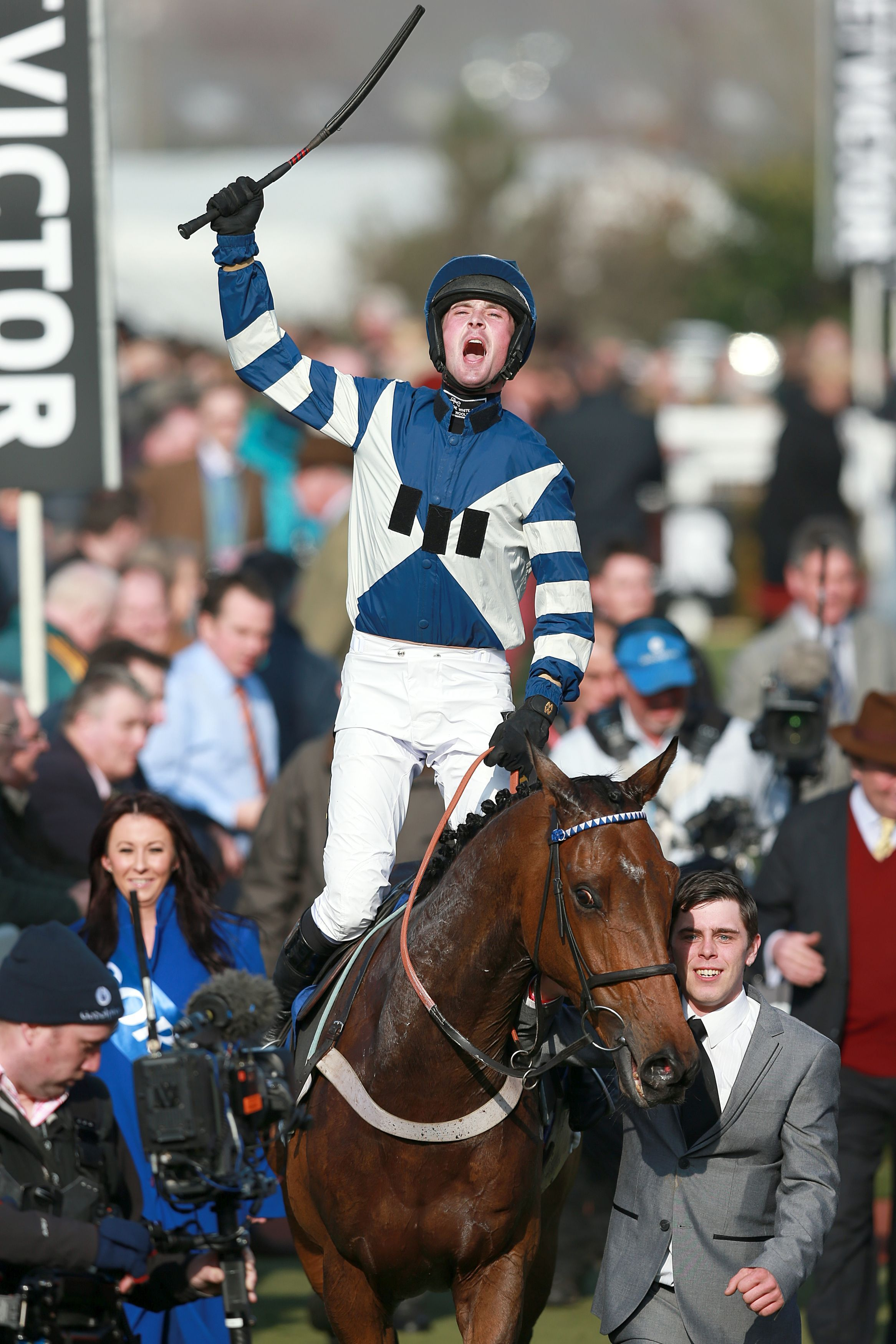 Cheltenham Festival: Son of Flicka flares in Coral Cup 'blinder'