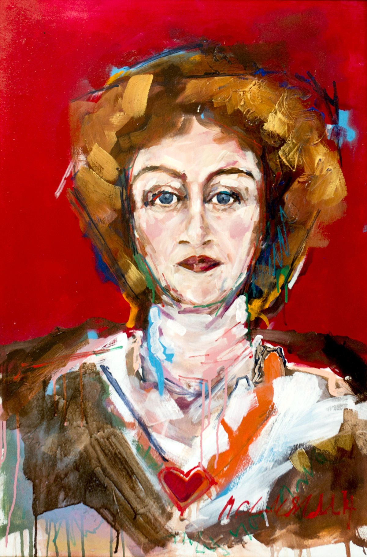 Portrait of playwright Githa Sowerby on display at York Theatre Royal