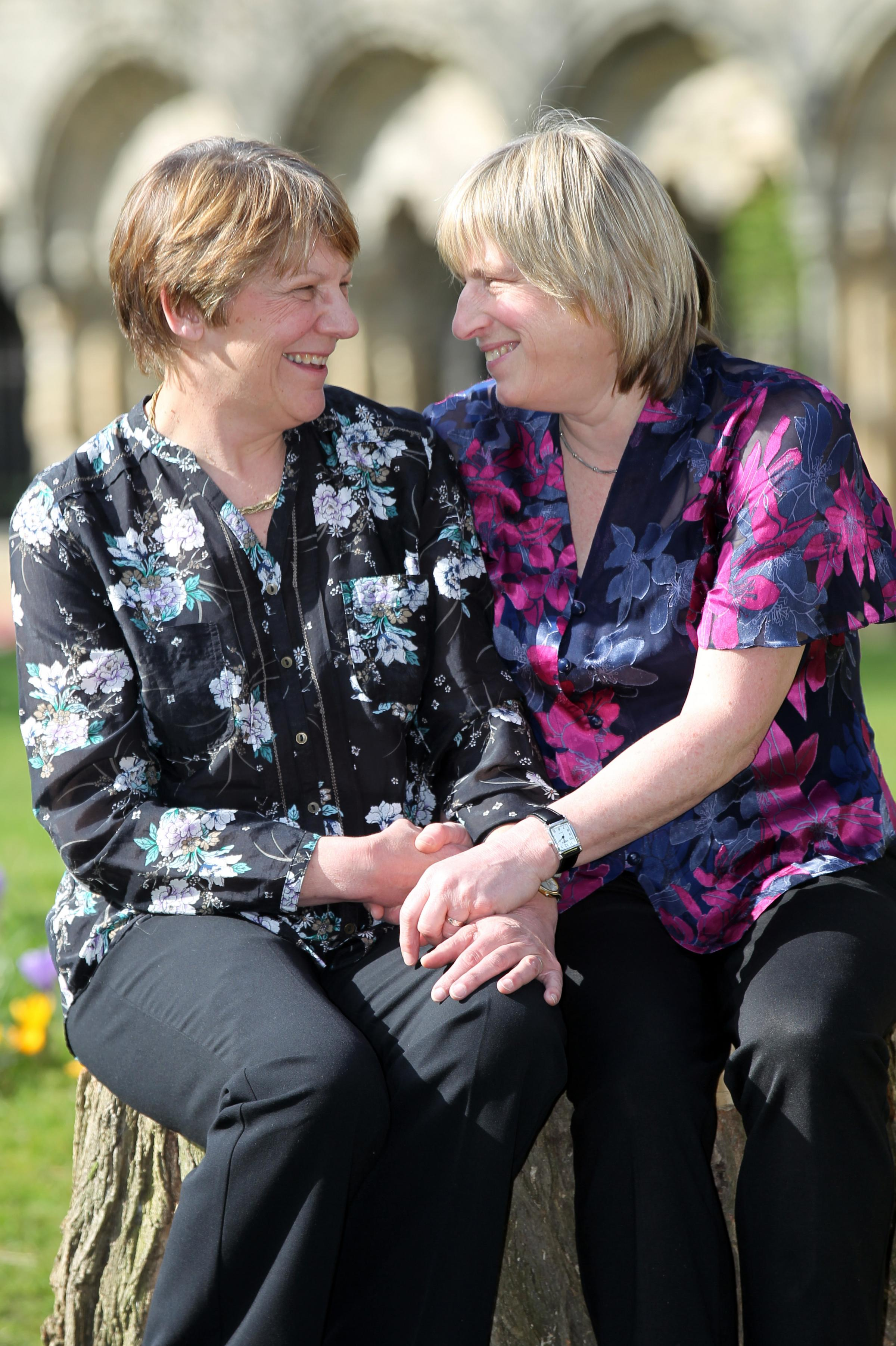 Marriage now legally recognised for lesbian couple