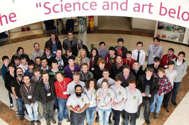 Schools from various parts of Britain battled it out in the UK CanSat competition at the University of York
