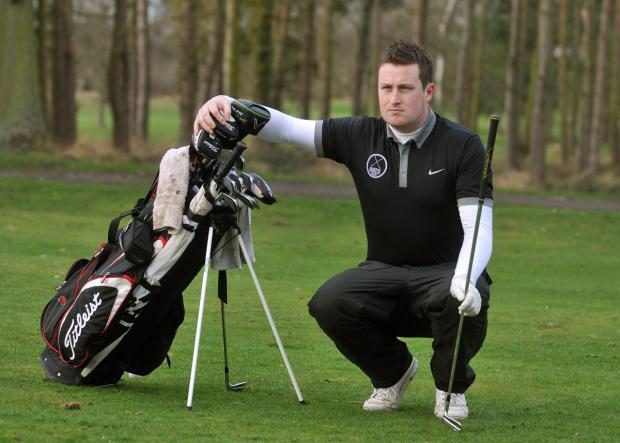 Easingwold Golf Club's Nick Marchant is launching a determined bid to qualify for the EuroPro Tour