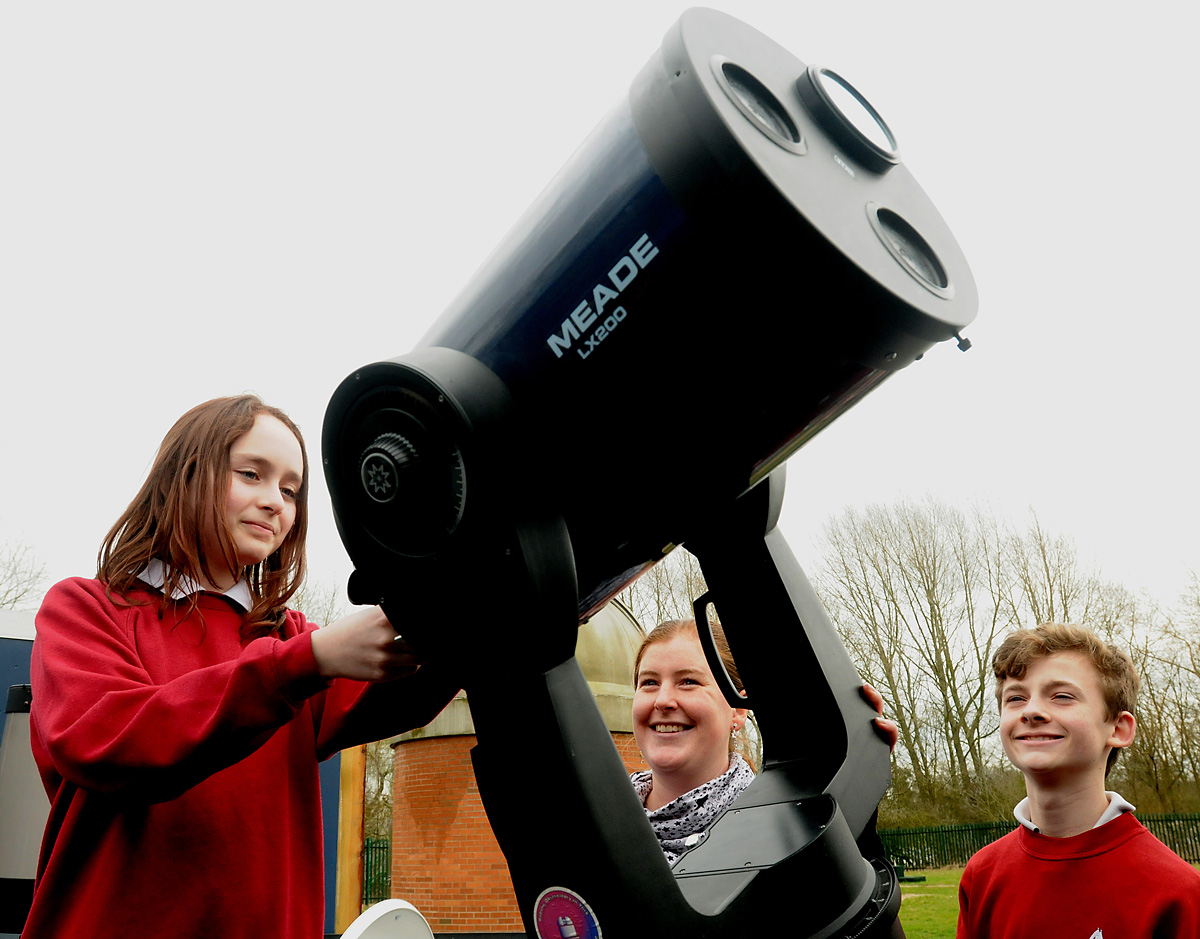 Chance to see stars at university's new Astrocampus